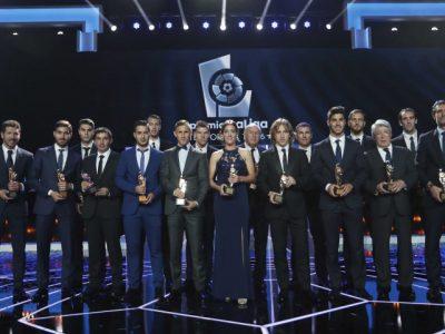 Rotundo éxito en una nueva edición de los Premios La Liga