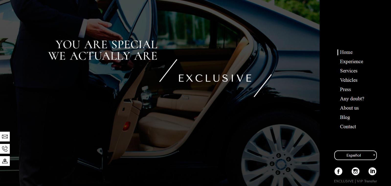 ¿Cómo contratar un servicio de alquiler de coches de lujo con conductor? 1