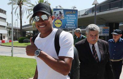 Murillo está en Valencia para convertirse en el siguiente fichaje