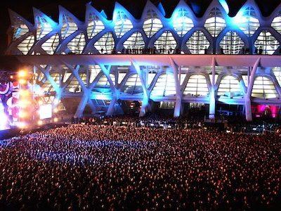 Valencia Winter Festival, la mayor fiesta de Nochevieja