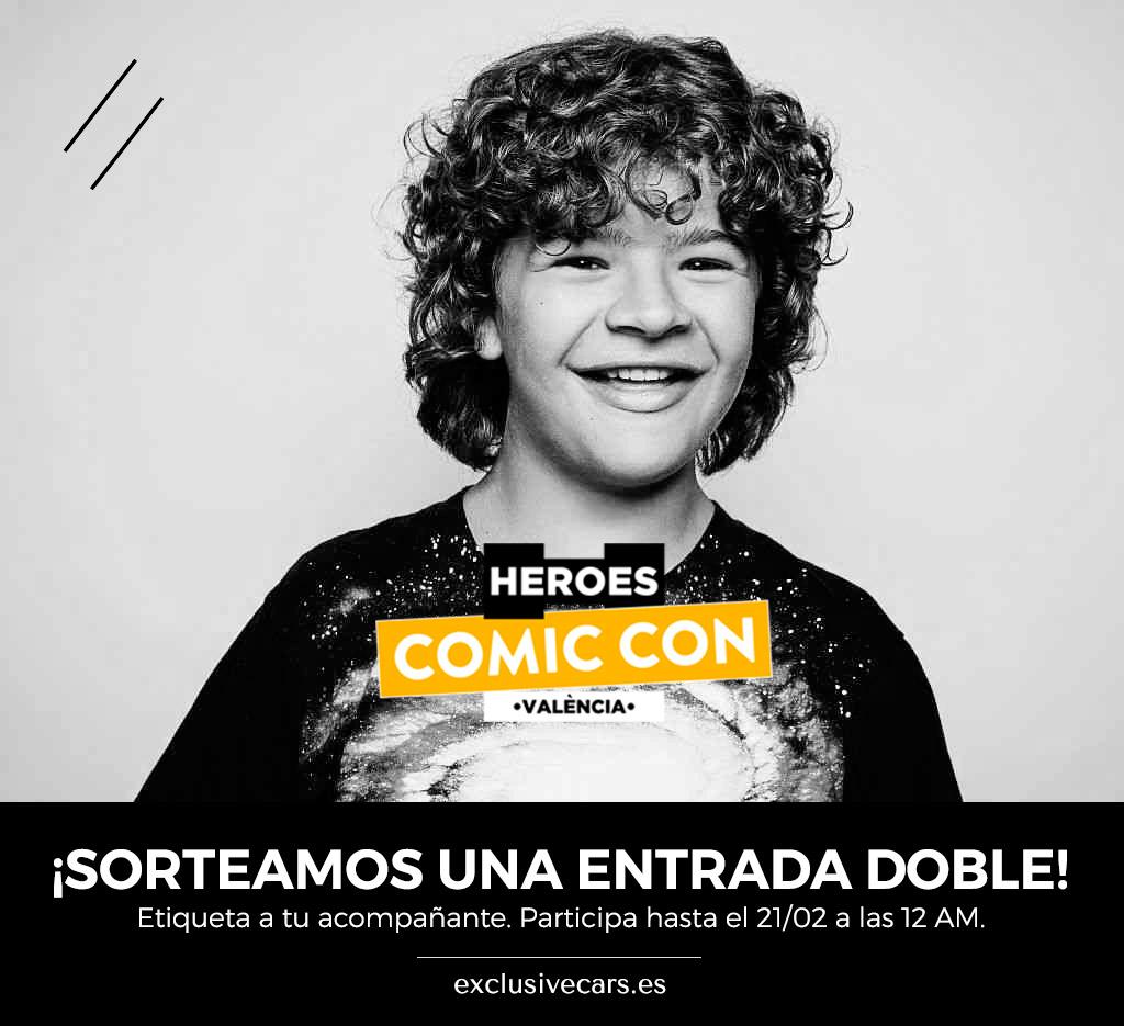 Sorteamos una entrada doble para el Heroes Comic Con Valencia