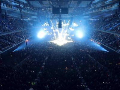 Metallica bate el récord de asistencia en el WiZink Center de Madrid con 17.267 espectadores