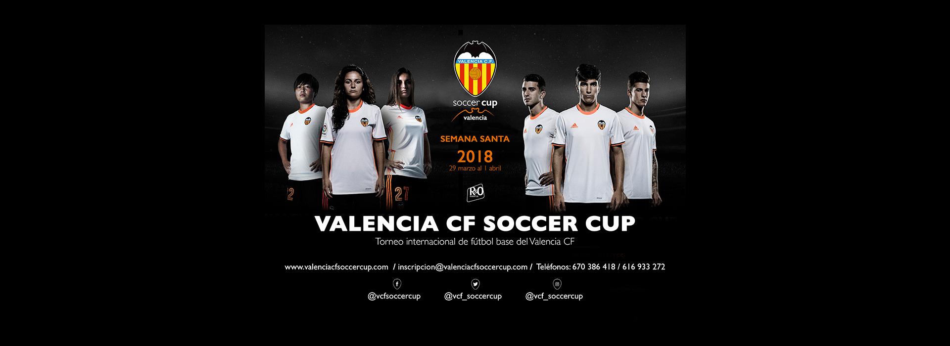 La Valencia CF Soccer Cup un torneo de fútbol base que se consolida