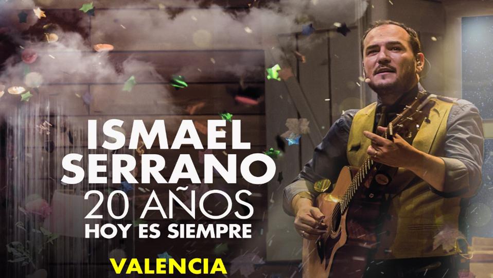 Ismael Serrano actuará en la ciudad de Valencia 1