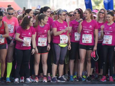 Mireia Belmonte enamora a Valencia en la Carrera de la Mujer
