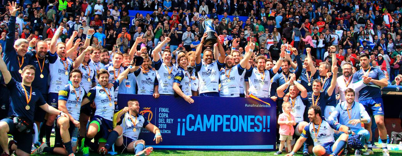 La final de la Copa del Rey de Rugby celebrada en Valencia ya tiene ganador 3