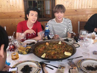 Donghae y Leeteuk de Super Junior disfrutan de su tiempo libre en España