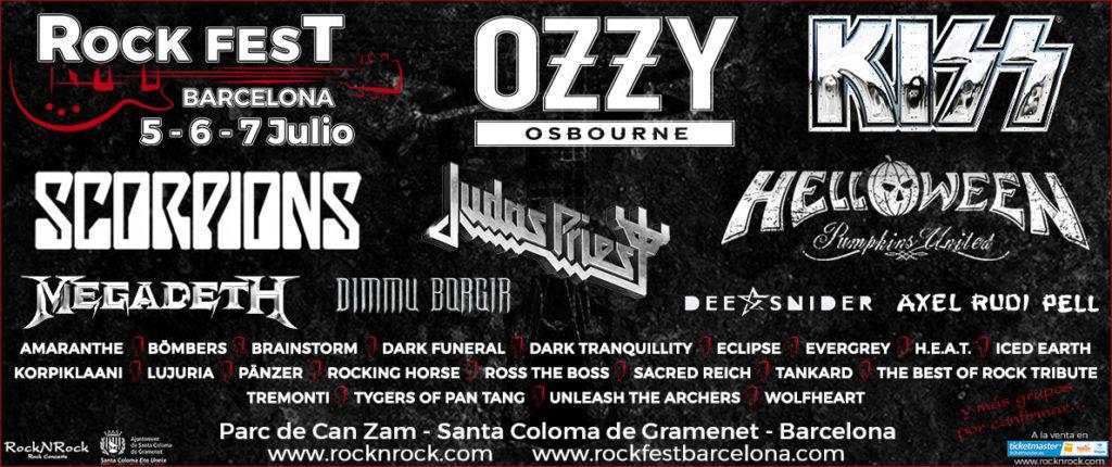 ¿Por qué asistir al Rock Fest en Barcelona? 1