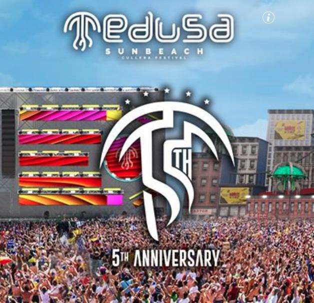 #BeExclusive en el Medusa Sunbeach Festival – Ganador/a de 2 entradas VIP