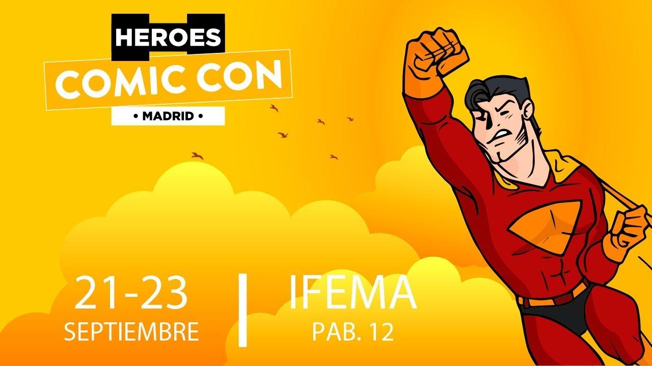 Llega a Madrid Héroes Comic Con 2018 1