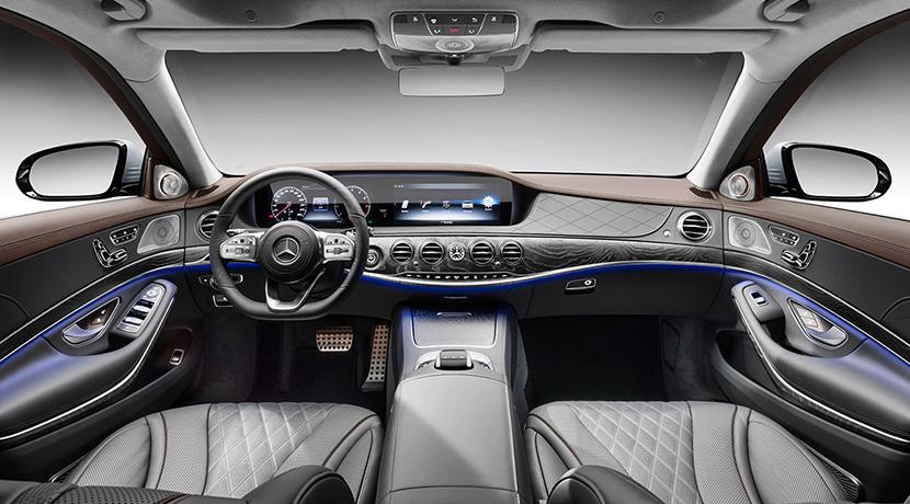 Mercedes Clase S para viajes ejecutivos