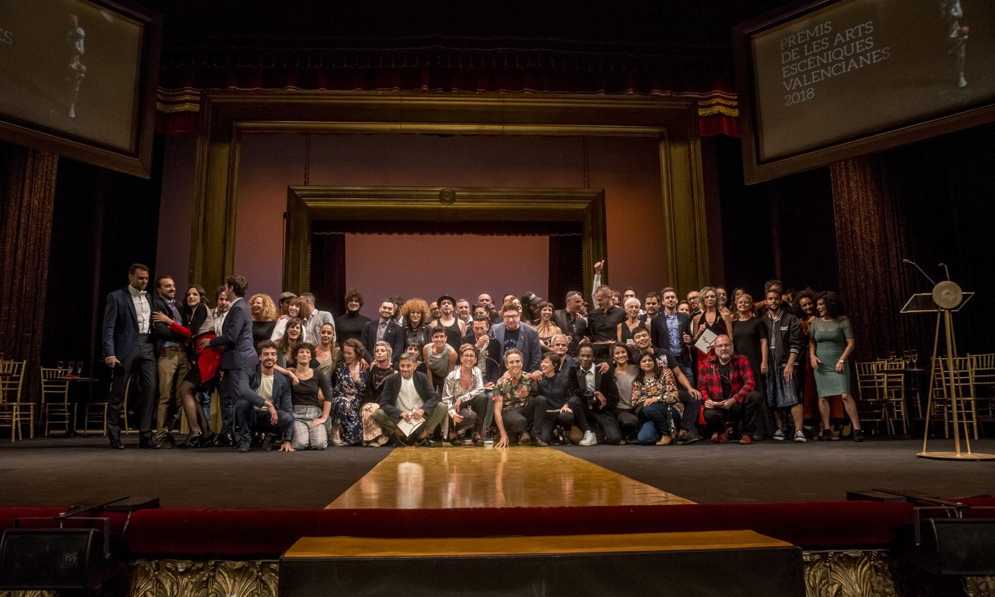 Los Premios de las Artes Escénicas volvieron a Valencia