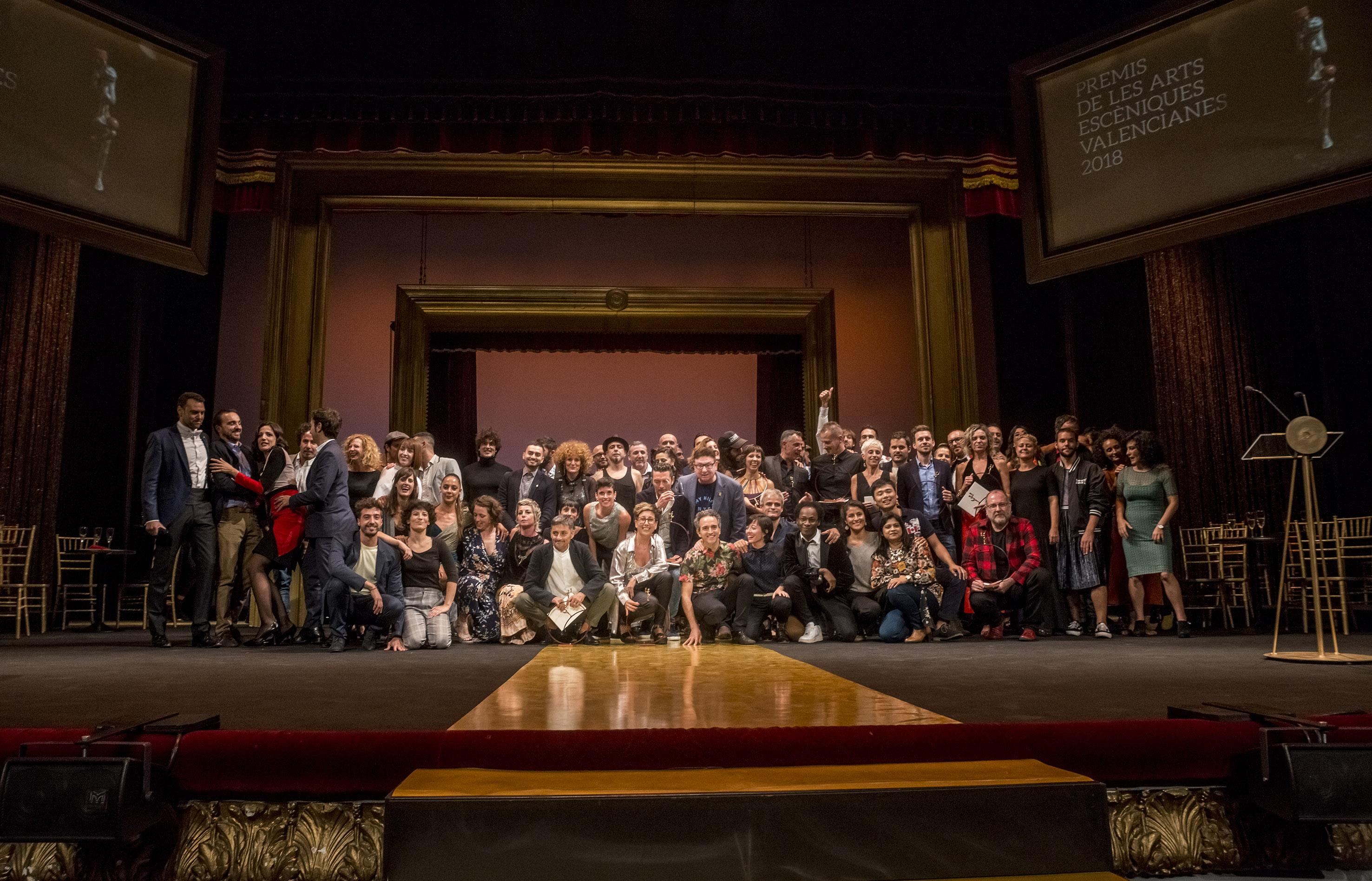 Los Premios de las Artes Escénicas volvieron a Valencia 3