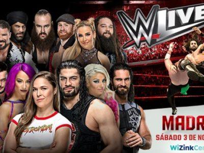 Golpes, combate y adrenalina: la WWE vuelve a Madrid