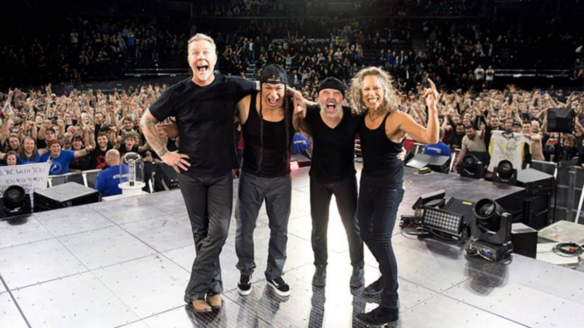 Metallica actuará en Madrid y Barcelona.