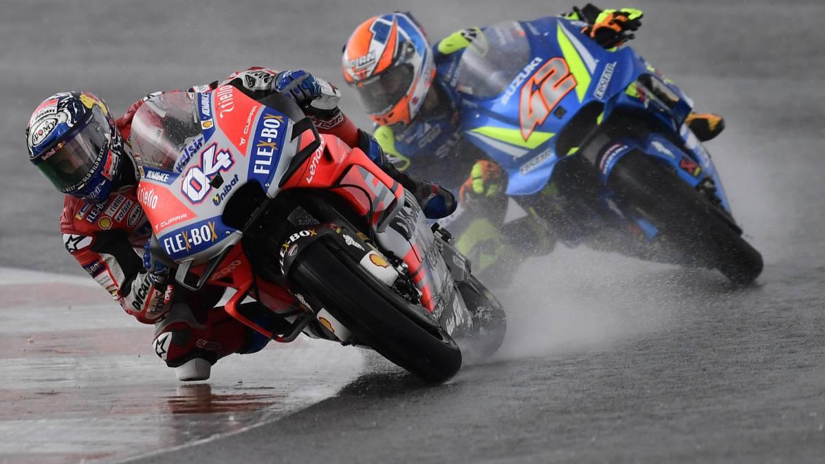 Se cierra el Mundial de Moto GP en Cheste marcado por la lluvia 1