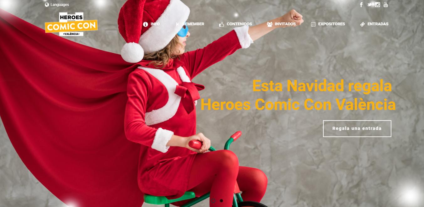Héroes Comic Con vuelve a Valencia en 2019 1