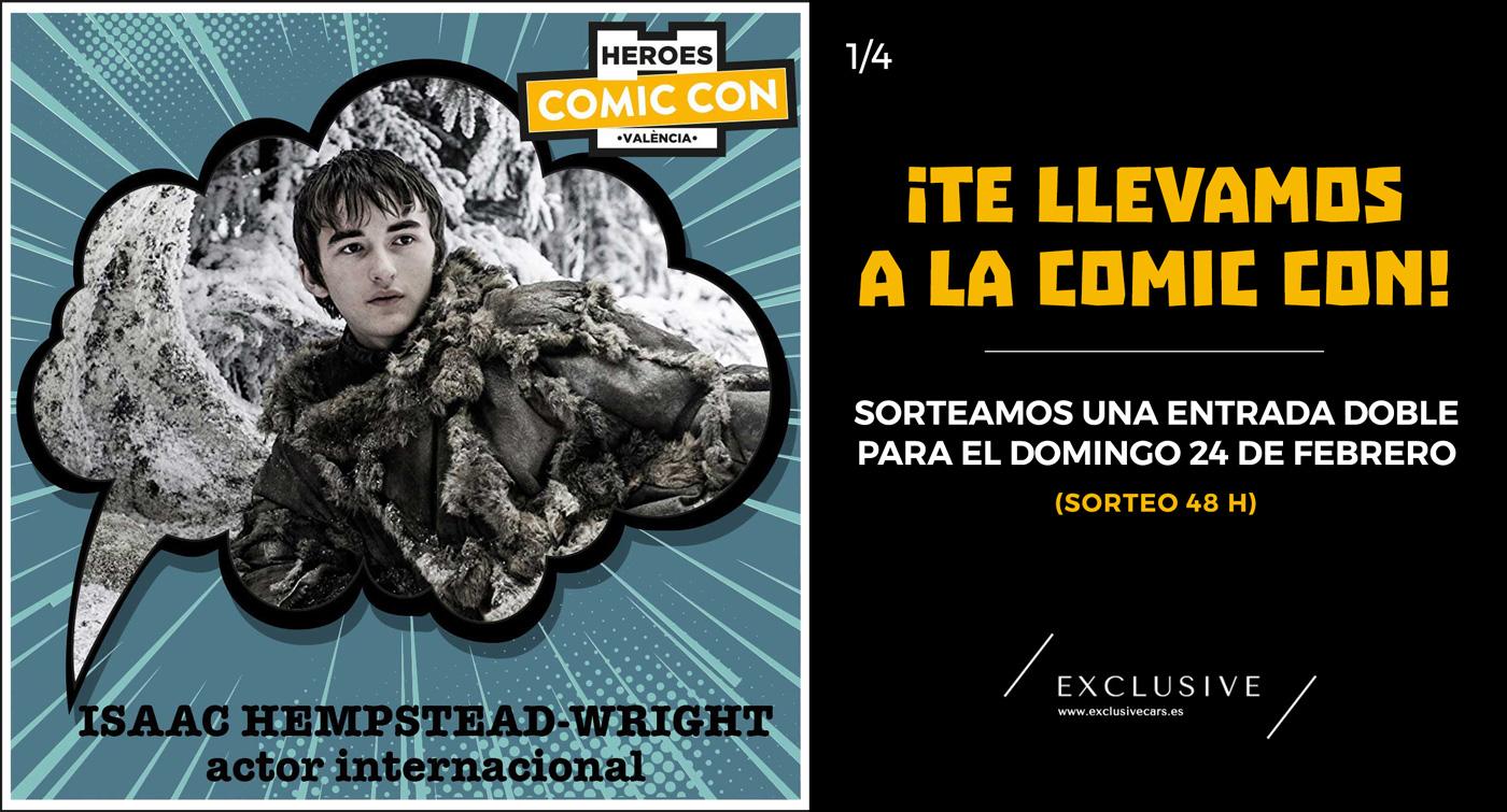 ¡Sorteamos entradas para la Heroes Comic Con de Valencia!