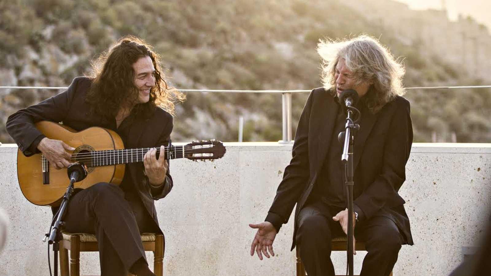 José Mercé y Tomatito parada en Sevilla en su Gira de Conciertos 1