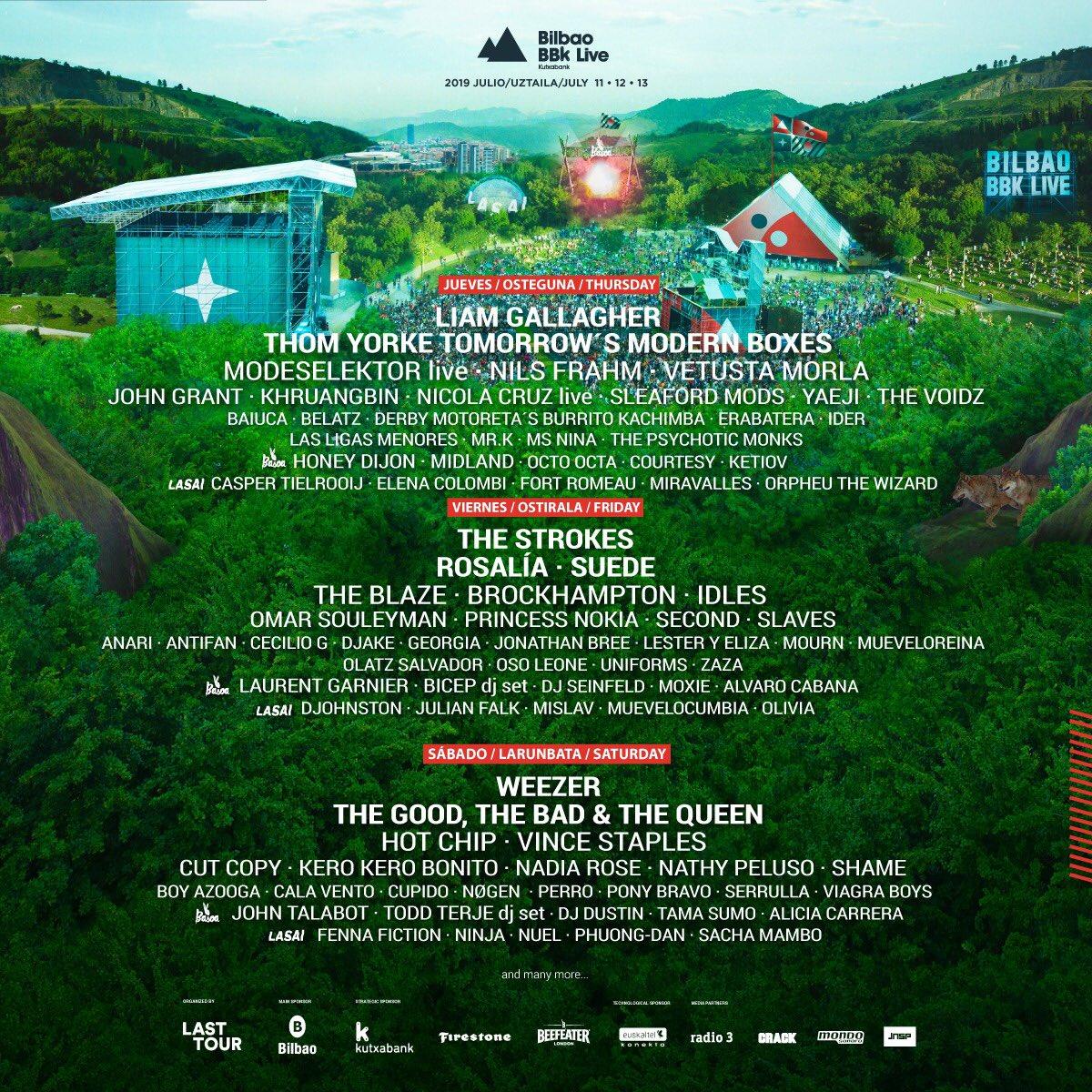 Bilbao BBK Live se posiciona como uno de los mejores festivales de música 3