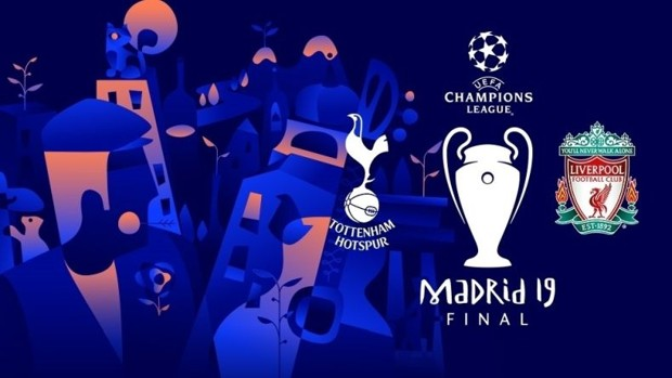 La final de la Champions League a punto de llegar a Madrid