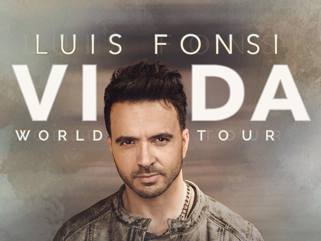 Luis Fonsi de ruta por España en su gira de conciertos 1
