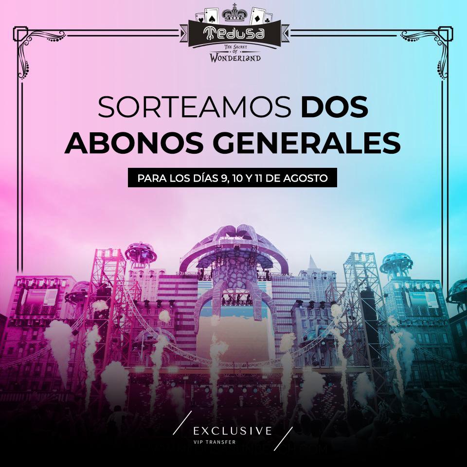 GANADORES – Sorteo de abonos y entradas para el Medusa Festival 2019 1