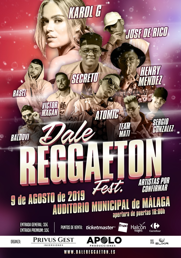 Muévete en el 'Dale Reggaeton Fest' de la ciudad de Málaga. 3