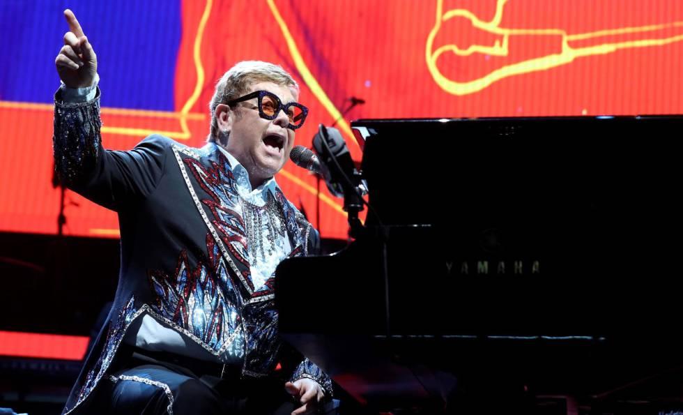 Elton John volverá a Barcelona el próximo año 1