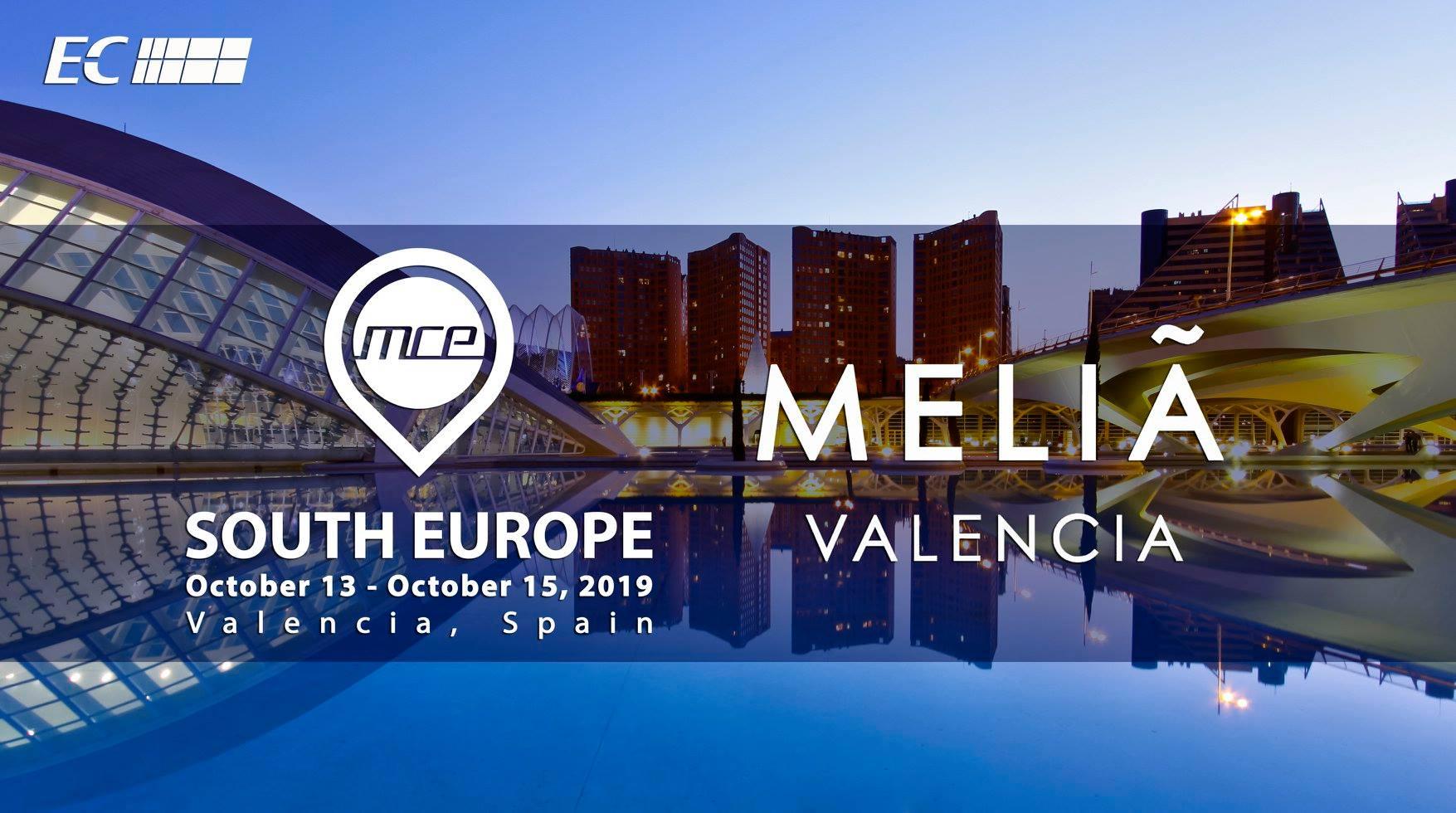 Llega en octubre a Valencia el 5th annual MCE South Europe