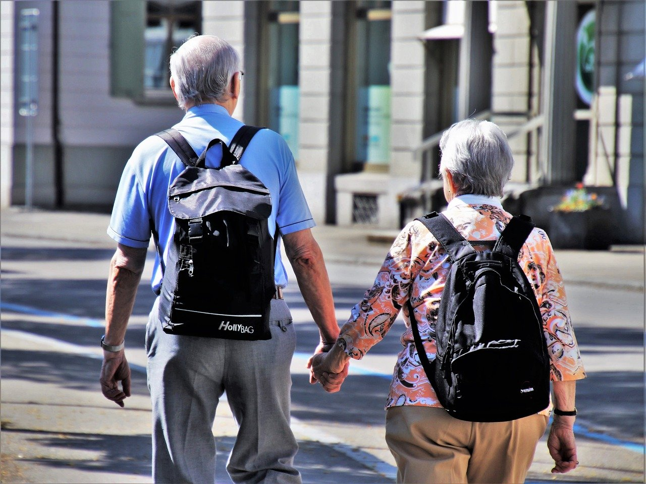 Formas cómodas de viajar para los seniors
