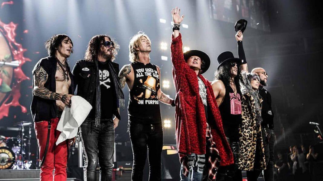 Guns n' Roses viajarán a Sevilla en su gira de conciertos.