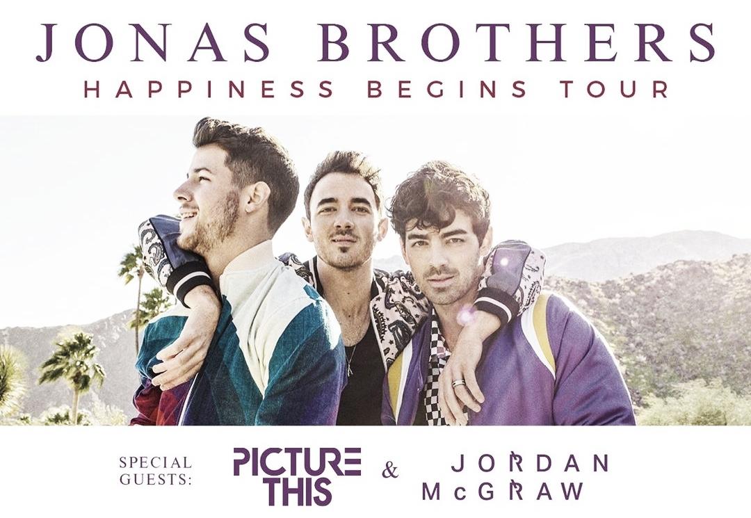 Jonas Brothers viajarán a España en su gira de conciertos 1