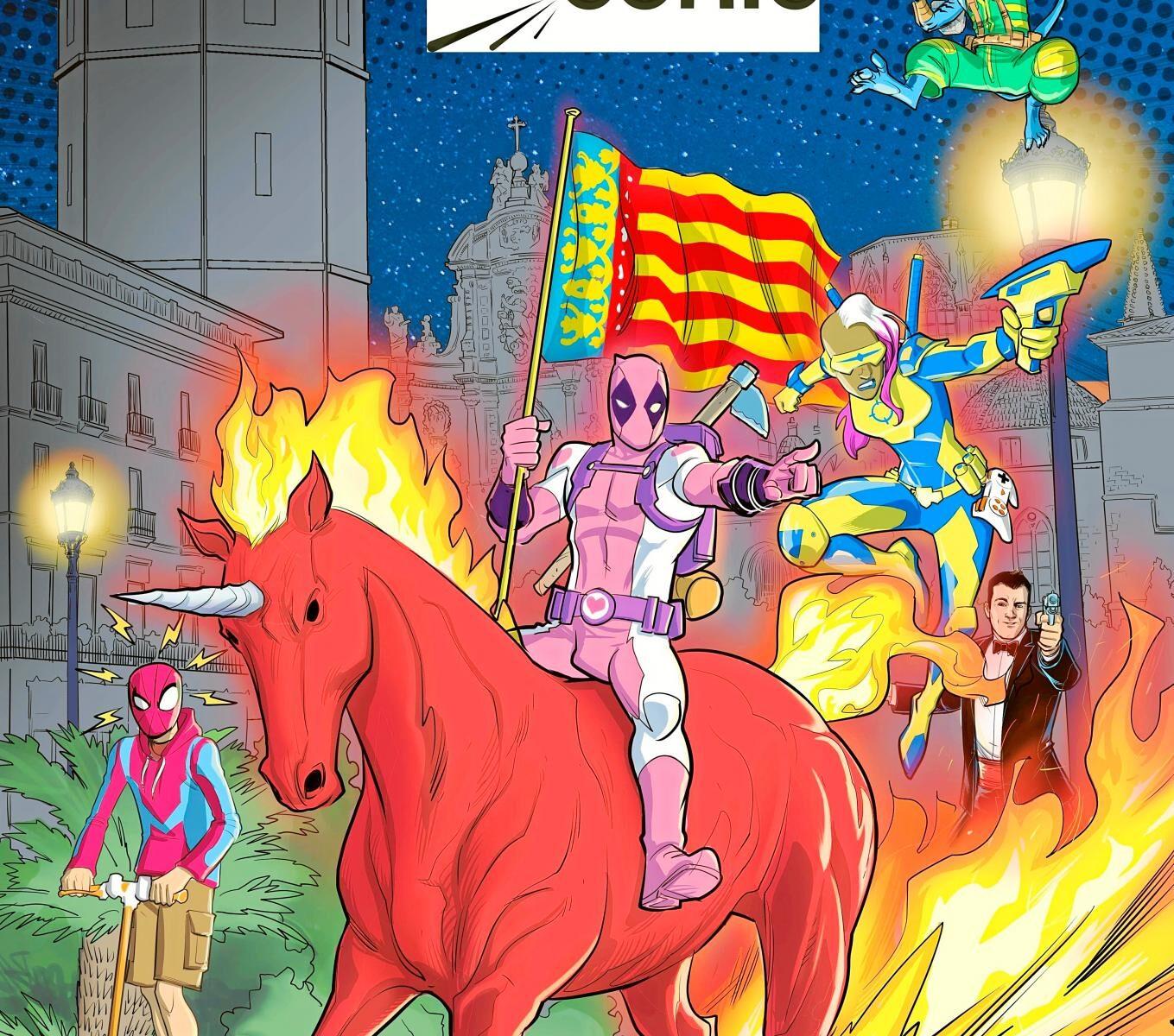 El 'Salón del Comic' abre sus puertas en Valencia durante febrero