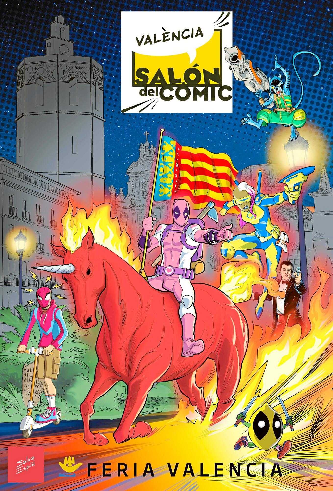 El 'Salón del Comic' abre sus puertas en Valencia durante febrero 1